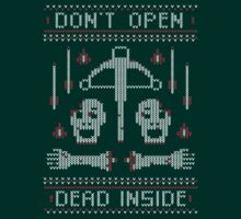 Zombie Christmas Sweater by JoeAngelillo