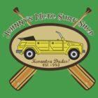 Johnny's Moto Surf Shop by Brantoe