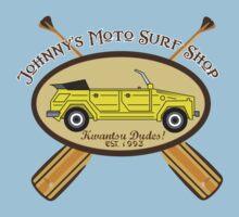 Johnny's Moto Surf Shop Baby Tee