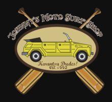 Johnny's Moto Surf Shop Kids Tee