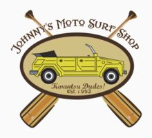 Johnny's Moto Surf Shop Baby Tee