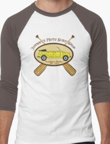 Johnny's Moto Surf Shop Men's Baseball ¾ T-Shirt