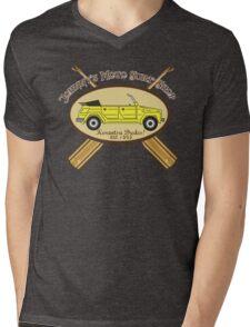 Johnny's Moto Surf Shop Mens V-Neck T-Shirt