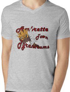 Ambrette City Tyrantrums Mens V-Neck T-Shirt