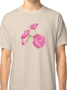 Pink Camelia Classic T-Shirt