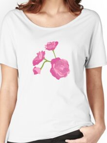 Pink Camelia Women's Relaxed Fit T-Shirt