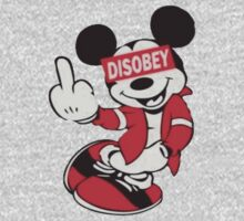 Disobey Mickey Mouse Design by bc98