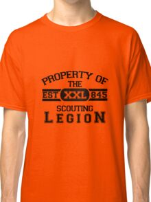 Attack on Titan - Sports Theme! Property of The Scouting Legion. ver 1 Classic T-Shirt