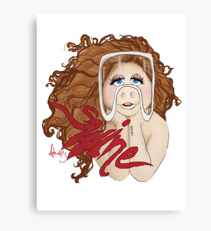 Piggy Swine Canvas Print