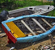 Wooden Boat by Rashad Penn
