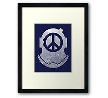 Peace Diver II Framed Print
