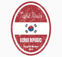 World Cup Football - Korea Republic (distressed) by madeofthoughts