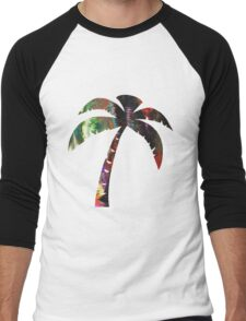 Summer Palm Men's Baseball ¾ T-Shirt