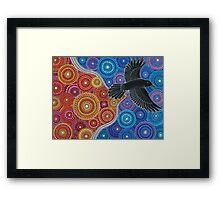 Raven Bringing in the Light Framed Print