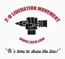 2-D LIBERATION MOVEMENT by Tony White