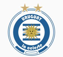 World Cup Football 4/8 - Team Uruguay by madeofthoughts