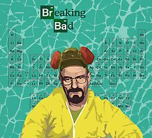 Breaking Bad, Walter White by Jordan Bails