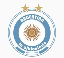 World Cup Football 5/8 - Team Argentina by madeofthoughts