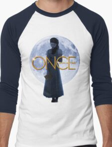 Belle - Once Upon a Time Men's Baseball ¾ T-Shirt