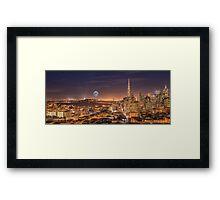 Enlightening San Francisco Framed Print