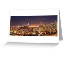 Enlightening San Francisco Greeting Card
