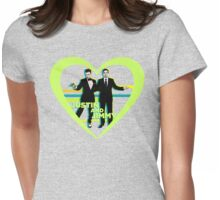 Justin and Jimmy Womens Fitted T-Shirt