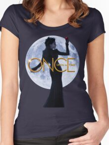 The Evil Queen/Regina Mills - Once Upon a Time Women's Fitted Scoop T-Shirt