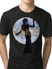 The Evil Queen/Regina Mills - Once Upon a Time Tri-blend T-Shirt