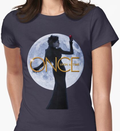 The Evil Queen/Regina Mills - Once Upon a Time Womens Fitted T-Shirt