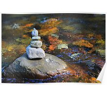Cairn on Paradise River   Poster