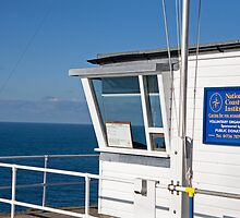 Cape Cornwall national coastguard watch by Keith Larby