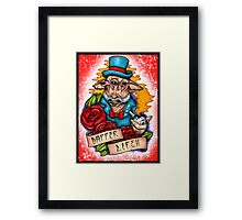 Dapper Ask Aak Framed Print