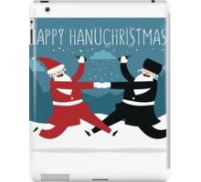 Hanuchristmas (with BG) iPad Case/Skin