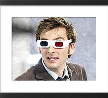 dr who 3d glasses with frame image by LokiLaufeysen