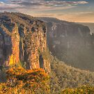 Of Rugged Mountain Ranges - GovettsLeap - The HDR  Experience by Philip Johnson