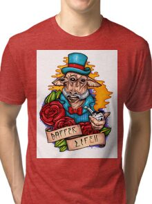 Dapper Ask Aak Tri-blend T-Shirt