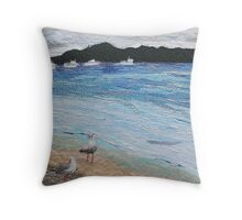 Noosa River Dreaming Throw Pillow