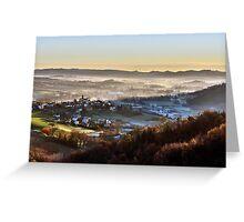 Italy - Monferrato Greeting Card