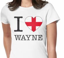 I ♥ WAYNE Womens Fitted T-Shirt