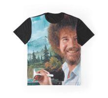 Bob Ross  Graphic T-Shirt