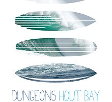 My Surfspots poster-4-Dungeons-Cape-Town-South-Africa by Chungkong