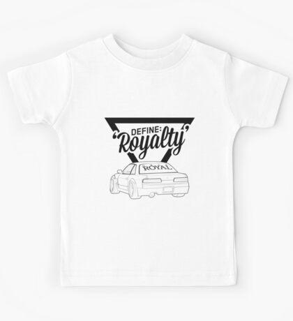 Define 'Royalty' Kids Tee