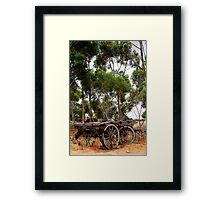 Australian History Framed Print