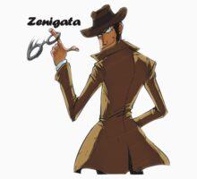 Lupin - Zenigata by anarky85