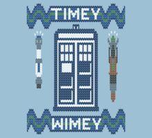 Timey-Wimey Xmas by geekchic  tees