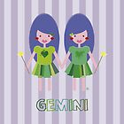 Gemini by estherilustra