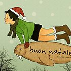 Buon Natale! by Rizky Warnerin Illustration