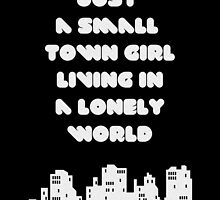 Small Town Girl by angeliana