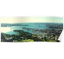 Sydney Harbour from Centrepoint Tower Poster