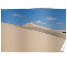 Dune climb Poster